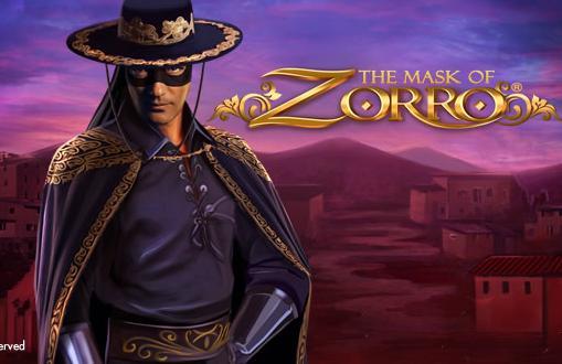 The Mask of Zorro Video Slot