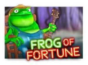 Wild Hillbilly Frog of Fortune Video Slot