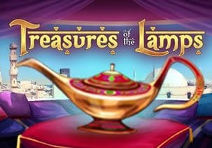 Beautiful Genies and Treasures of the Lamps