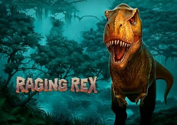 Raging Rex Jurassic themed Video Slot