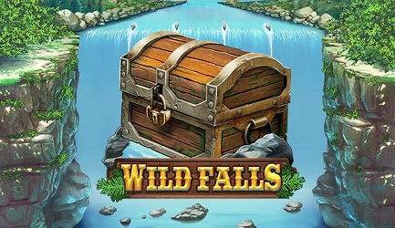 Cool Blue Wild Falls