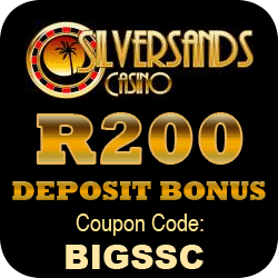 Silver Sands Casino R200 BONUS Offer