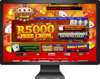 Jackpot Cash Online Casino - Play in SA Rands