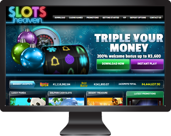 Slots Heaven Casino - Play The Marvel Video Slots in South African Rands