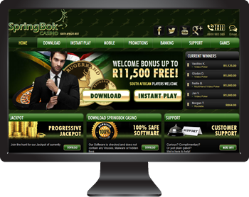 Springbok Casino - Play Real Series Video Slots in South African Rands
