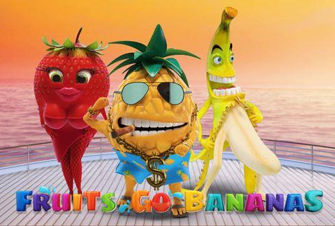 Yummy blockbuster Fruits Go Bananas Video Slot