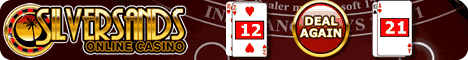 Play online blackjack games at Silversands Online Casino
