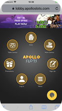 Apollo Slots Mobile Casino will give you 50 free spins to play Bubble Bubble this Halloween!