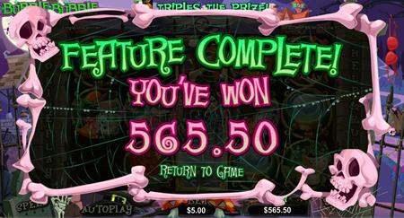 Play the Bubble Bubble Video Slot machine at Jackpot Cash Casino