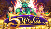 40 Free Spins on your mobile - 5 Wishes Video Slot