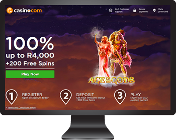 Casino.Com - Play in SOuth African Rands
