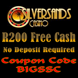 Silver Sands Casino R200 Free Cash BONUS Offer