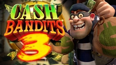 Cash Bandit 3 mobile offer now available from Silversands Casino