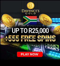 5 Free Spins Da Vinci's Gold new players welcome offer