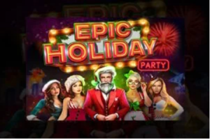 Epic Holiday Party Christmas themed video slot game