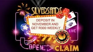 November Free with deposit offer