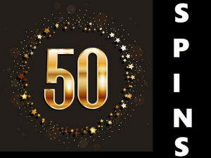 50 Free spins for the new year
