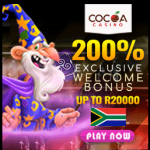 Cocoa Exclusive 200% welcome offer