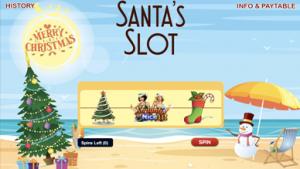 Santa is coming Santa's Slot from Silversands
