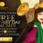 221% Match - Bitcoin offer at Da Vinci's Gold