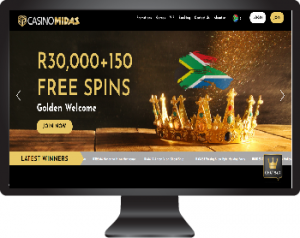 Casino Midas - Play in South African Rands