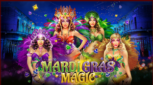 Mardi Gras Magic  coming soon and more from Silversands Casino