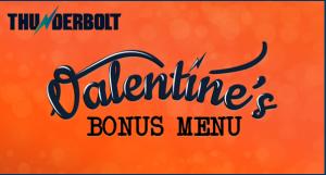 Sweet 16 and more Bonus menu from thunderbolt